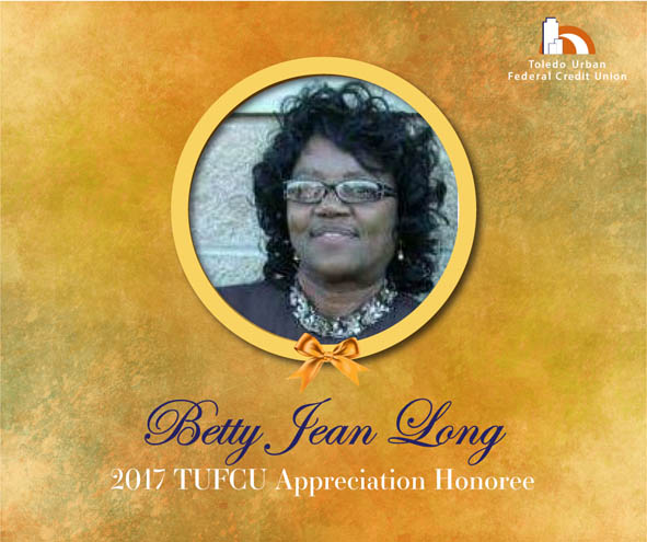 Image of Betty Jean Long, 2017 T.U.F.C.U. Appreciation Honoree.