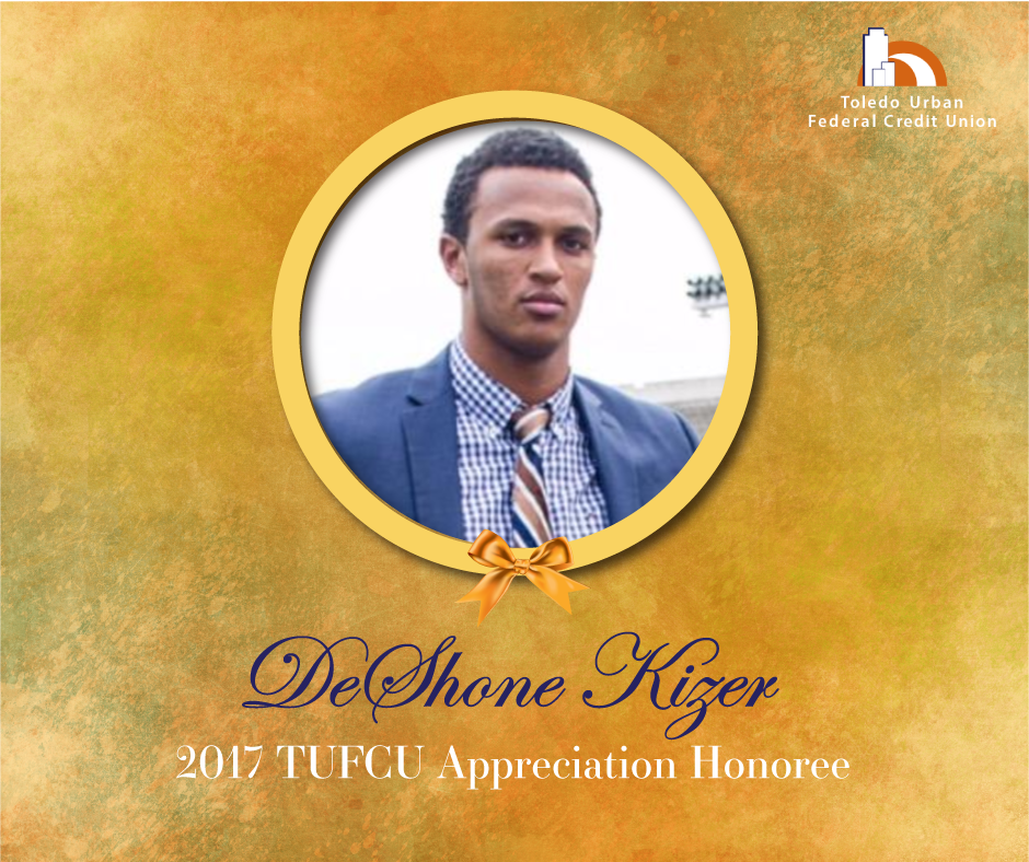 Image of DeShone Kizer, 2017 T.U.F.C.U. Appreciation Honoree.