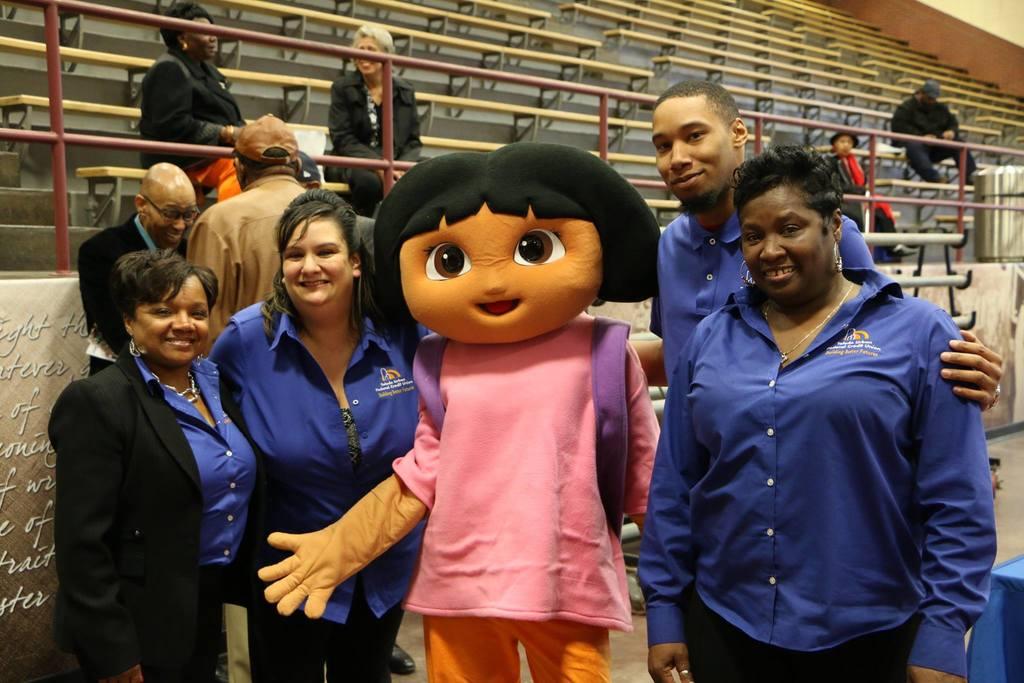 Toledo Urban staff at recent community meeting